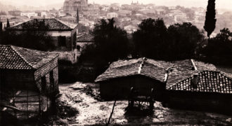 Αποτύπωση του χωριού απο το βουνό του Γκίτζου