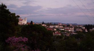 Ανατολική πλευρά του χωριού