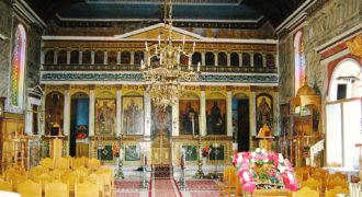 Εσωτερικό Ιερού Ναού Αγίου Νικολάου
