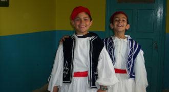 Εθνική γιορτή μαθητές τσολιάδες