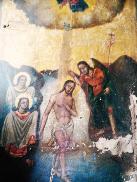 Εικόνα απο μικρό εκκλησάκι Αγίων Θεοδώρων (1843)