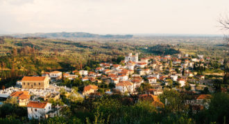 Το χωριό απο βόρεια