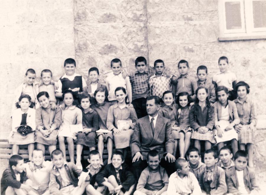 Πέμπτη, έκτη Δημοτικού σχολείου Κολιρίου 1956