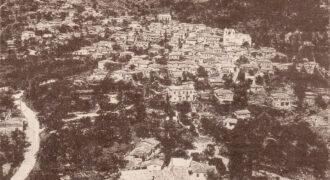 Γενική άποψη του δημοτικού διαμερίσματος Κολυρίου την δεκαετία του 1970